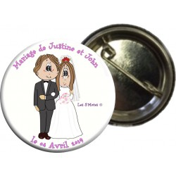 Insignia de matrimonio