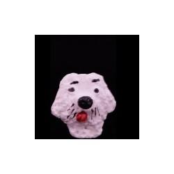 Chien blanc modèle 4