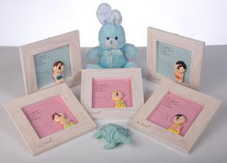 Cadres de naissances compo lapin